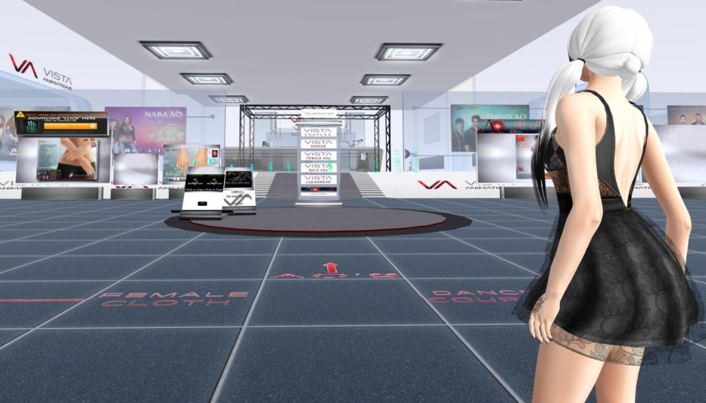 Second Life Shopping at Vista Animations