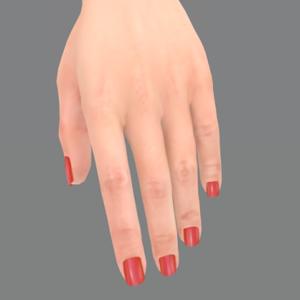 Maitreya's original nonbento hand.