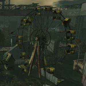 Second Life Landscape Fair Flooded Ruins Natural Falls V