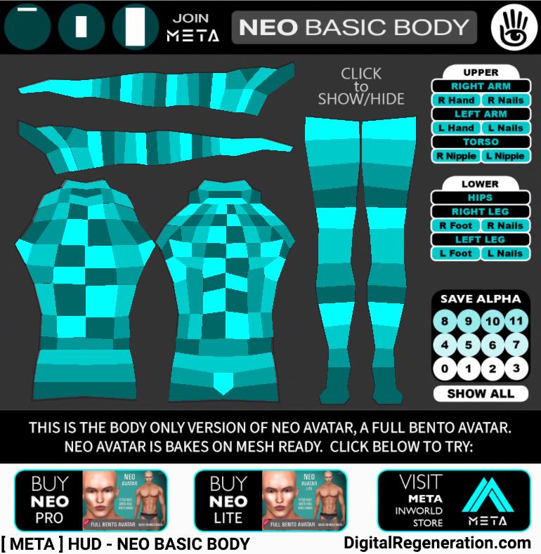 META's Neo Basic HUD